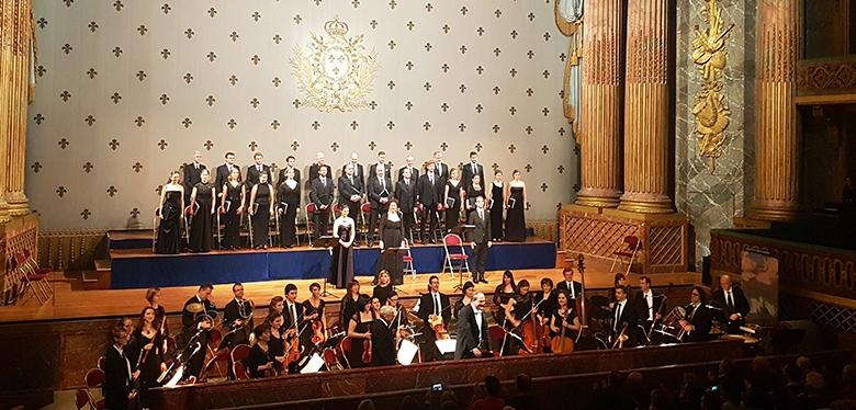Rencontre pédagogique et concert à l'Opéra royal deVersailles