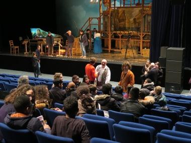 02.03.17 rencontre après spectacle Atys en folie collège Courbet