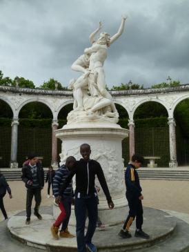 11.05.17 journée à Versailles élèves de l'école Henri Wallon 1