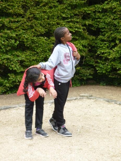 11.05.17 journée à Versailles élèves de l'école Henri Wallon 2