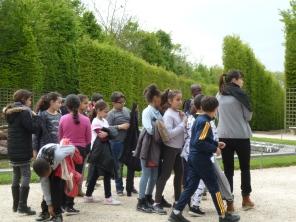 11.05.17 journée à Versailles élèves de l'école Henri Wallon 3