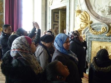 22.04.17 visite château de Versailles centres sociaux 2