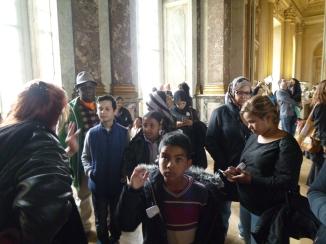 22.04.17 visite château de Versailles centres sociaux 3