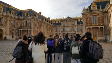 23.02.17 visite château de Versailles collège Courbet