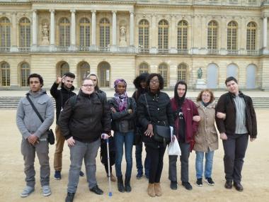 23.03.17 journée de visites à Versailles Mission locale