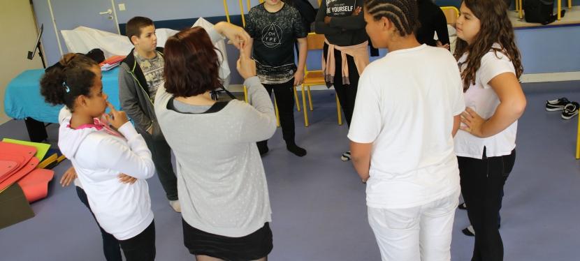 Ateliers artistiques dans les classes : c'est parti!
