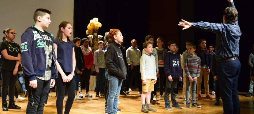 2017-2018 : création collective d'unecomédie-ballet